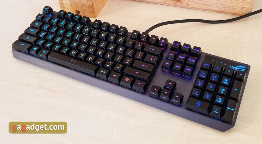 Обзор ASUS ROG Strix Scope RX: оптико-механическая геймерская клавиатура с влагозащитой-4