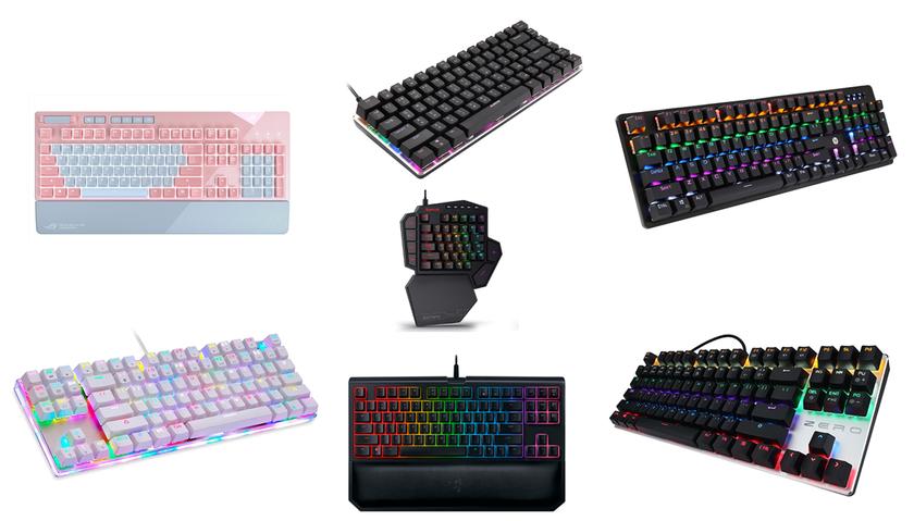 7 лучших механические клавиатур на AliExpress