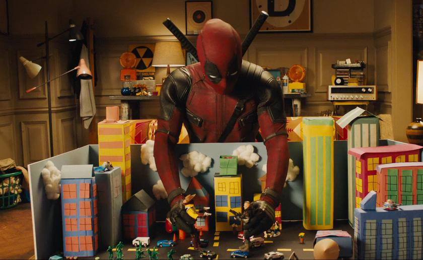 "Released full-length trailer superhero comedy ""Deadpool 2"""