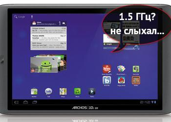 On the Autobahns of Europe went tablet Archos 101 G9 Turbo