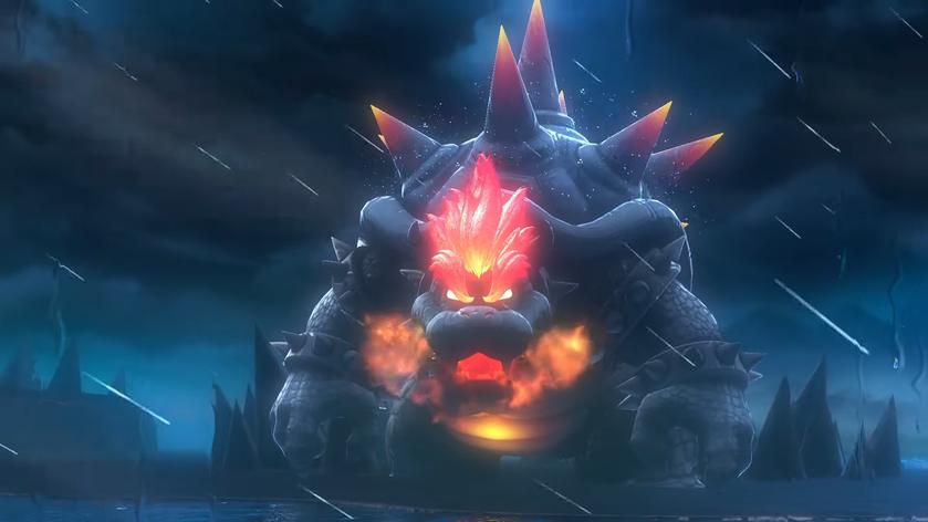 Его боялась даже Годзила: трейлер Super Mario 3D World + Bowser's Fury сбольшим излым Боузером