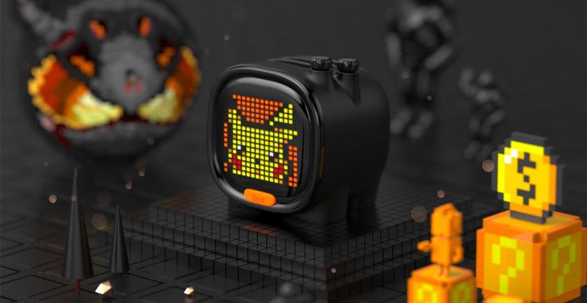 Divoom Timoo: умная колонка-будильник с экраном Pixel Art