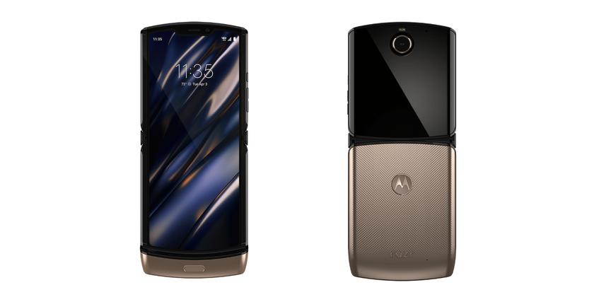 Motorola собирается выпустить «раскладушку» RAZR в золотой расцветке