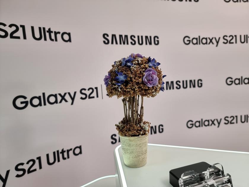 Флагманская линейка Samsung Galaxy S21 и наушники Galaxy Buds Pro своими глазами-53