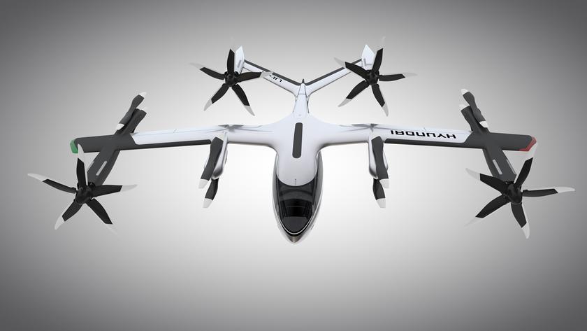 Uber и Hyundai показали на выставке CES 2020 модель четырехместного воздушного такси