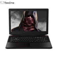 feed me 15.6 inch Gaming Laptop Nvidia GTX1060 Intel I7-7700HQ DDR4 6G Video Card Laptop For Game Office Work HDMI 4K video RJ