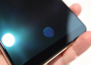 Vivo introduced the technology built into the display of the fingerprint scanner