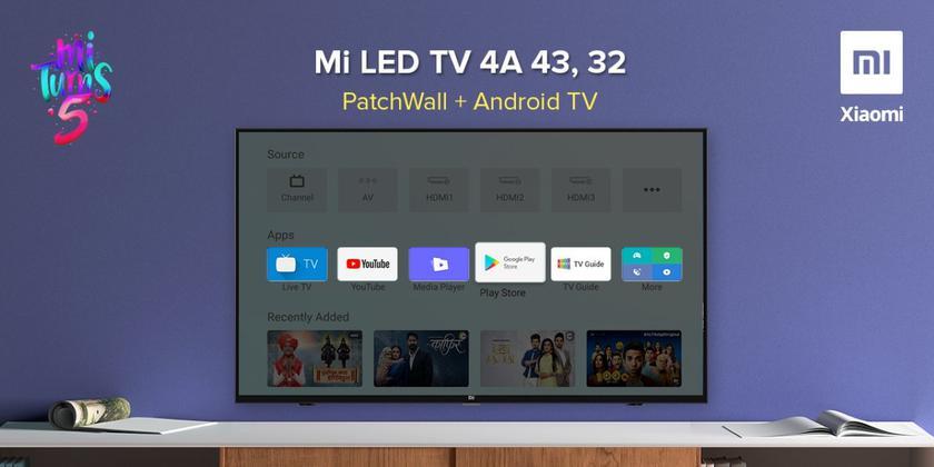 Линейка смарт-телевизоров Xiaomi Mi TV 4A получила стабильную версию ОС Android Pie