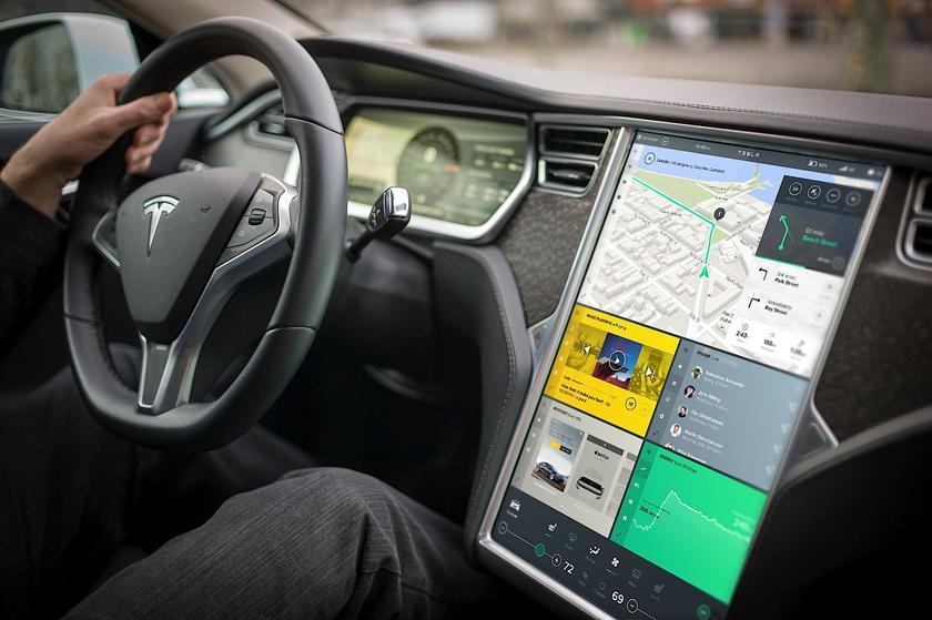 Электромобили Tesla получат поддержку музыкальных сервисов Apple Music и Amazon Music