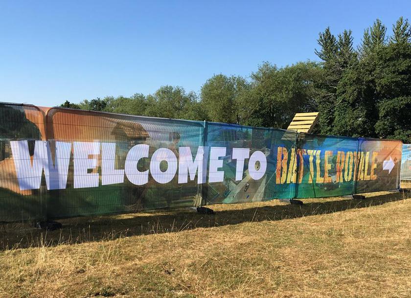 ВАнглии открыли лазертаг парк Fortnite «Королевская битва»