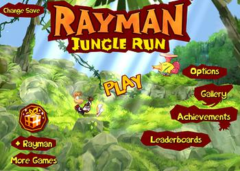 Игры для iPad: Rayman Jungle Run