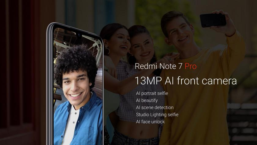 Xiaomi представила Redmi Note 7 Pro с улучшенной 48-мегапиксельной камерой и ценой от $200-10