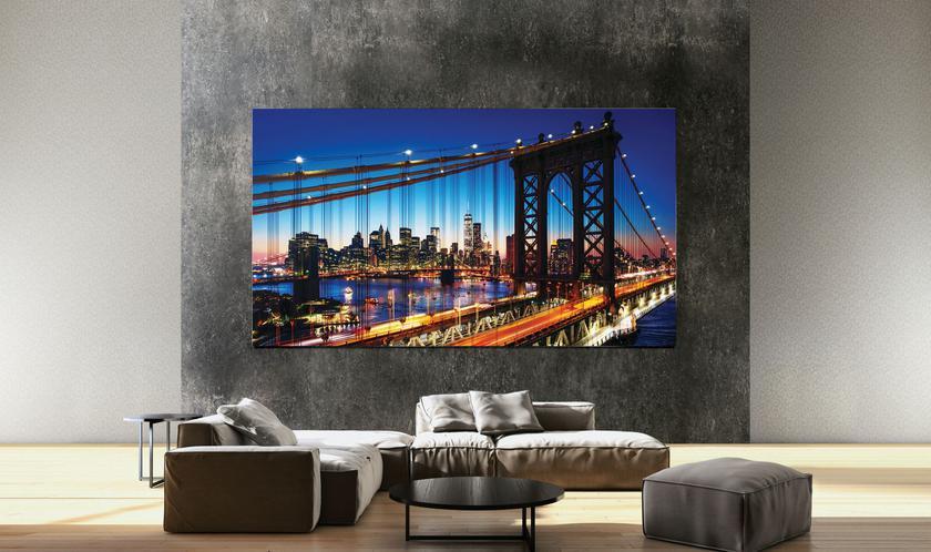 Samsung представила Q950TS QLED 8K TV—  домашний безрамочный 8К-телевизор сИИ