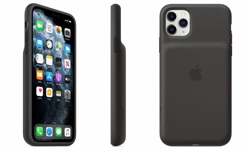 Apple выпустила «горбатые» чехлы с аккумулятором для iPhone 11 — по цене смартфона Redmi 8
