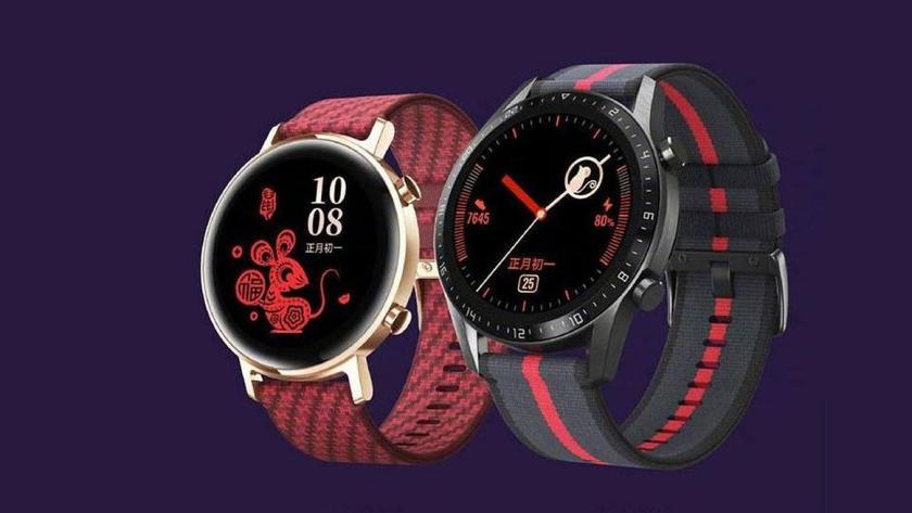 Huawei выпустила «новогодние» смарт-часы Watch GT 2