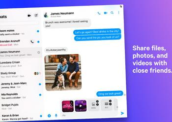 Facebook Messenger з'явився на macOS