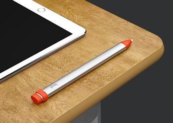 Logitech выпустила стилус Crayon — конкурент Apple Pencil за 49 долларов