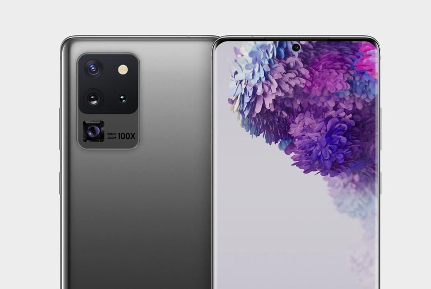 В сети появилось изображение основной камеры Samsung Galaxy S20 Ultra: четыре модуля и поддержка 100-кратного приближения