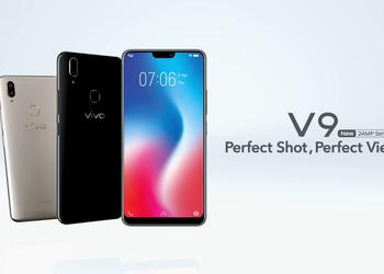 "Another clone of the iPhone X called Vivo V9 will receive ""monobrov"", the screen with FullView and SoC Snapdragon 660"