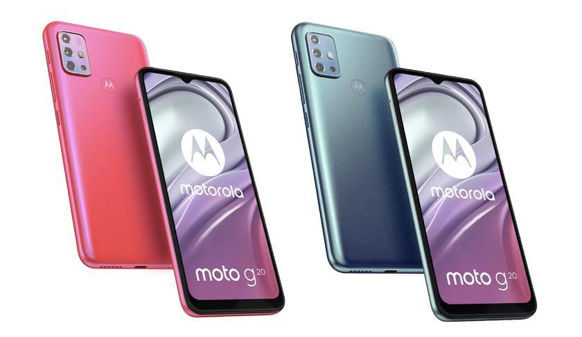 Motorola готовит к выходу Moto G20: бюджетный смартфон с батареей на 5000 мАч, Android 11 на борту и новым чипом Unisoc T700
