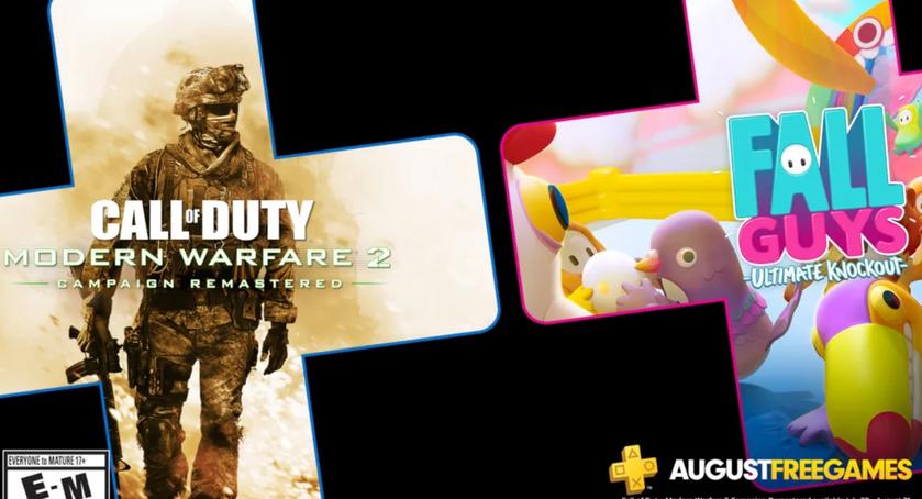 PlayStation Plus вавгусте: Sony раздаст ремастер Modern Warfare 2 иFall Guys Ultimate Knockout для PlayStation 4