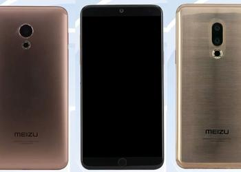 Characteristics of the flagship Meizu 15 and Meizu 15 Lite from TENAA