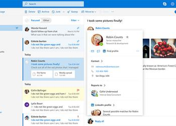 Microsoft switches to the new Outlook.com mail design