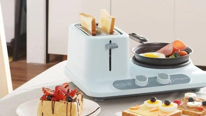 Xiaomi представила портативную кухню Donlim 2-в-1 с тостером и плитой