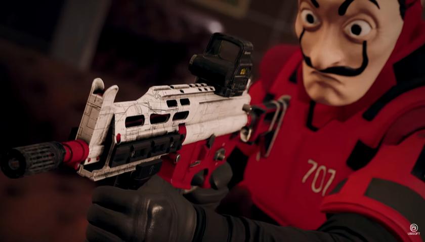 ВRainbow Six Siege стартовало событие «Бумажный дом» по сериалу Netflix