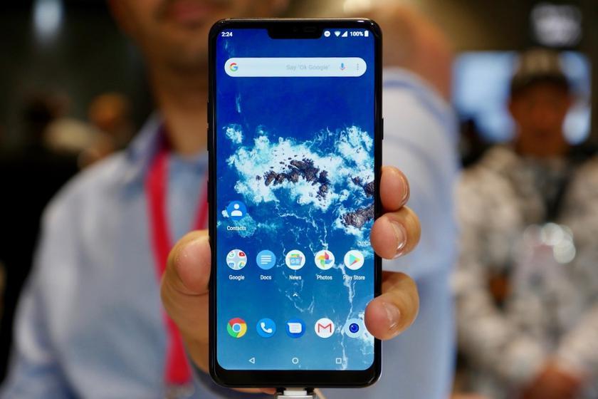 LG G7 One начал получать обновление Android 10