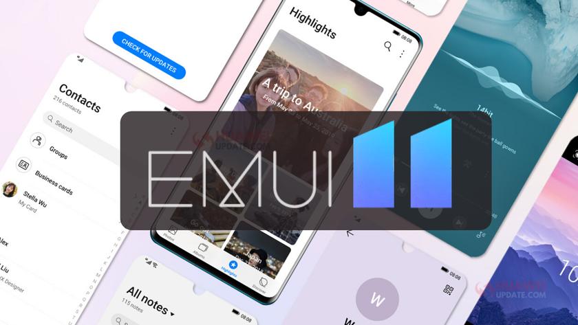 Huawei обновит до EMUI 11 40 моделей своих смартфонов и планшетов