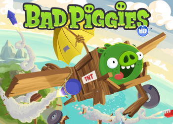 Игры для iPad: Bad Piggies