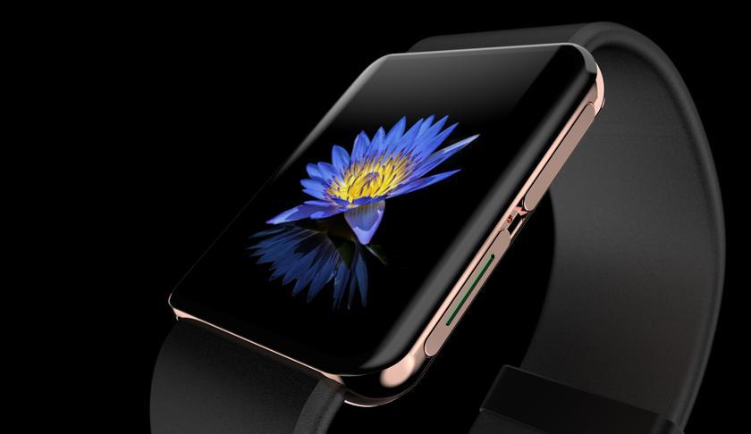 Смарт-часы OPPO с дизайном как у Apple Watch появились на новом официальном изображении