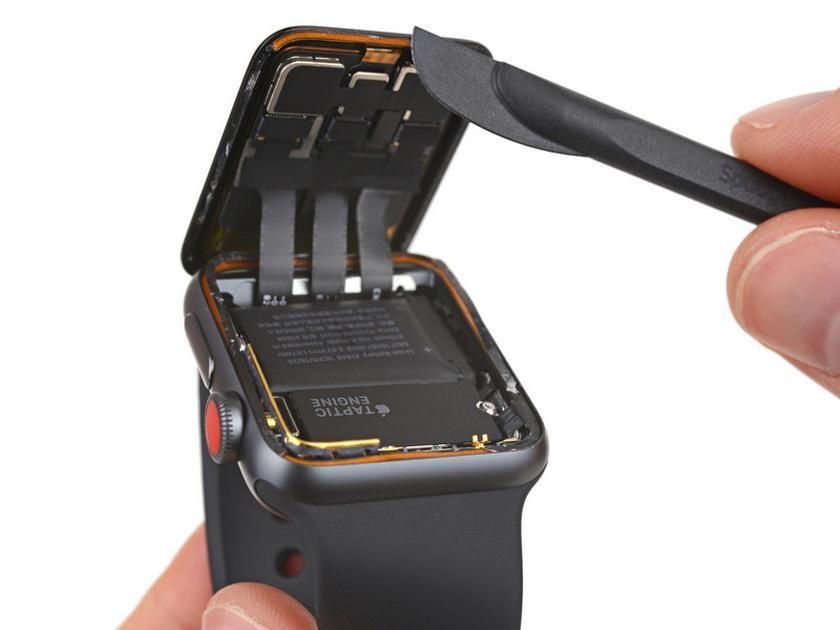 Почти смартфон: iFixit разобрали Apple Watch Series 3 с LTE