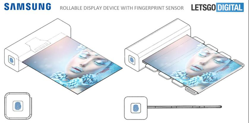 Samsung patented a tablet that folds into a tube