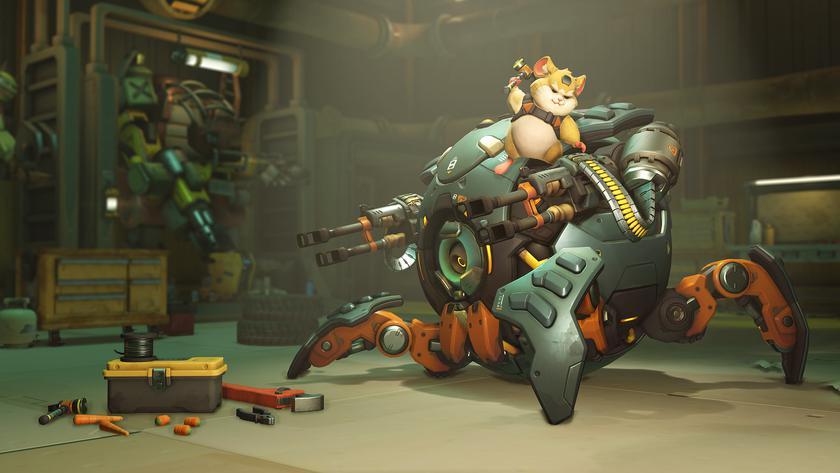 Blizzard добавила вOverwatch Хэммонда иустроила очередной ребаланс героев