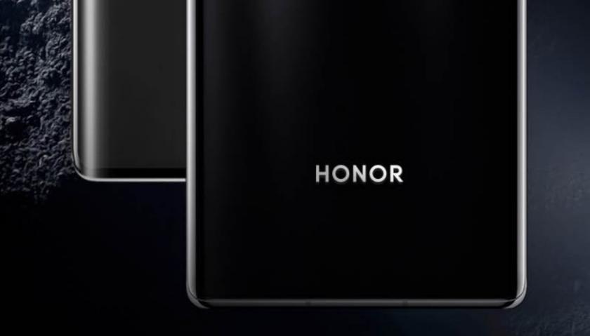 Honor V40 на рендере: экран-водопад, как у Huawei Mate 40 Pro