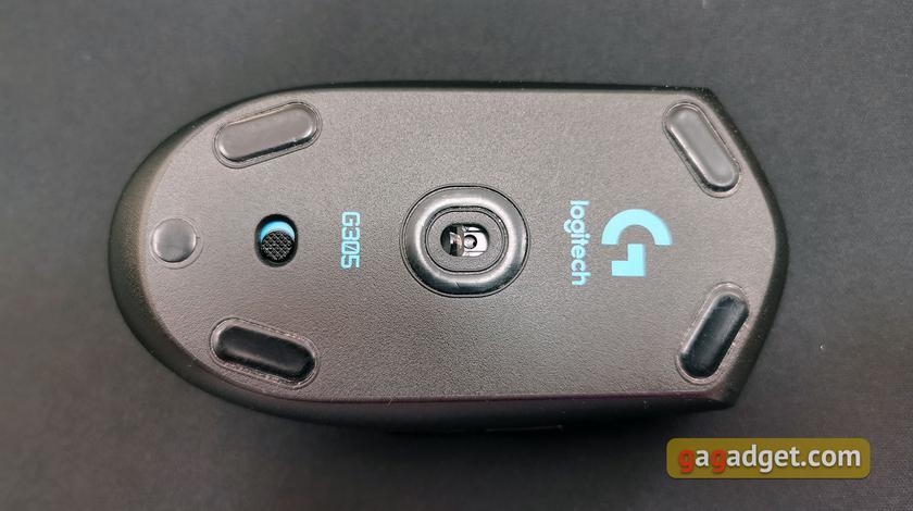 Обзор Logitech G305 Lightspeed: беспроводная игровая мышь с отличным сенсором-12