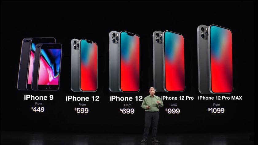 Ставки растут: Apple выпустит в следующем году семь новых iPhone