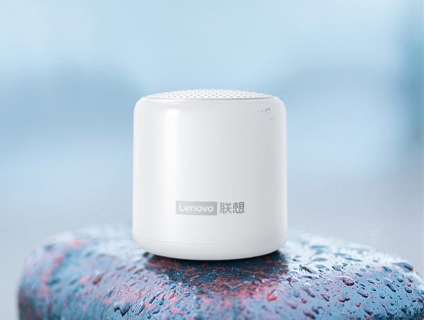 Lenovo L01: миниатюрная Bluetooth-колонка с защитой IPX5, встроенным микрофоном и автономностью до 16 часов за $12