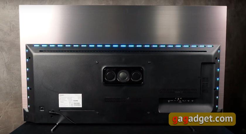 Philips 55OLED803 back side
