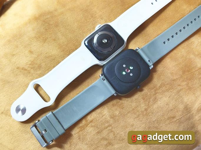 Огляд Amazfit GTS: Apple Watch для бідних?-5