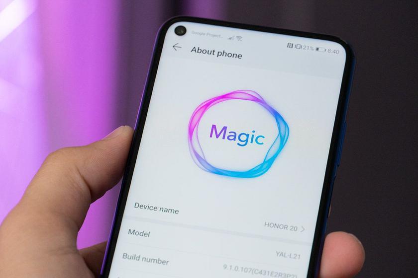 Honor 20, Honor 20 Pro и Honor View 20 начали получать глобальную стабильную версию  Android 10 с оболочкой Magic UI 3.0 (aka EMUI 10)