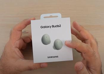 На YouTube появилось видео с распаковкой TWS-наушников Samsung Galaxy Buds 2