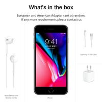"Used Unlocked Apple iPhone 8 Plus 8Plus 64GB/256GB Mobile Phone 3GB RAM Hexa Core 5.5"" IOS NFC Celular Smartphone Cell Phone"