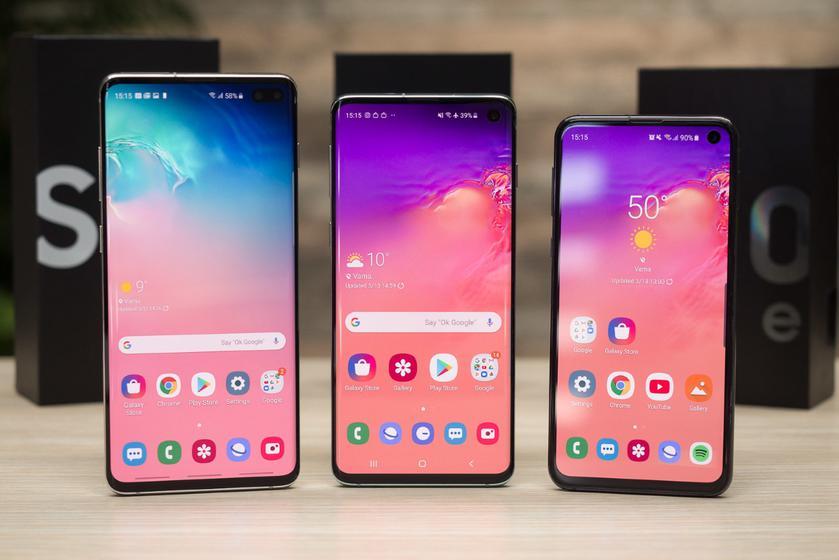 В новом обновлении для Samsung Galaxy S10e, Galaxy S10, Galaxy S10+ и Galaxy S10 5G добавили несколько функций Galaxy Note 10