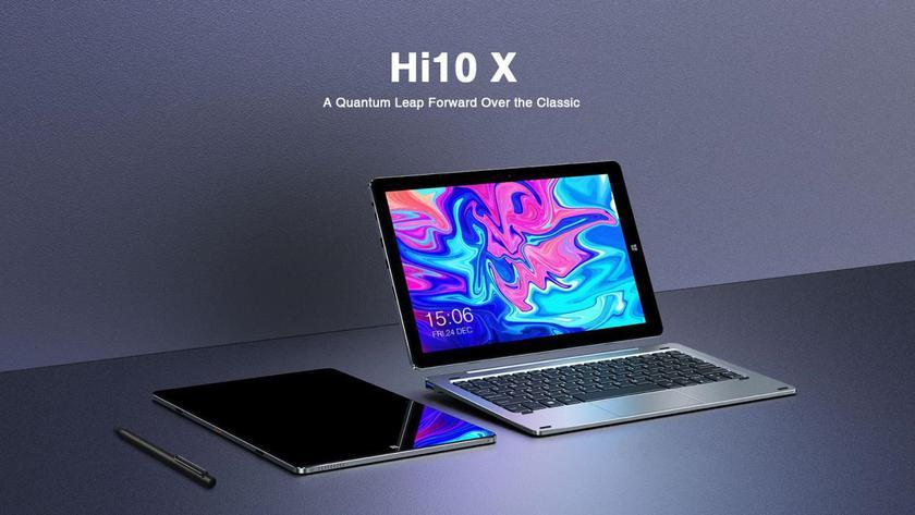 CHUWI Hi10X: Windows-планшет с клавиатурой от $275