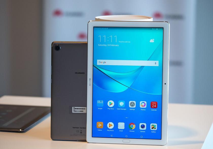 Планшет Huawei Mediapad M5 получит технологию GPU Turbo