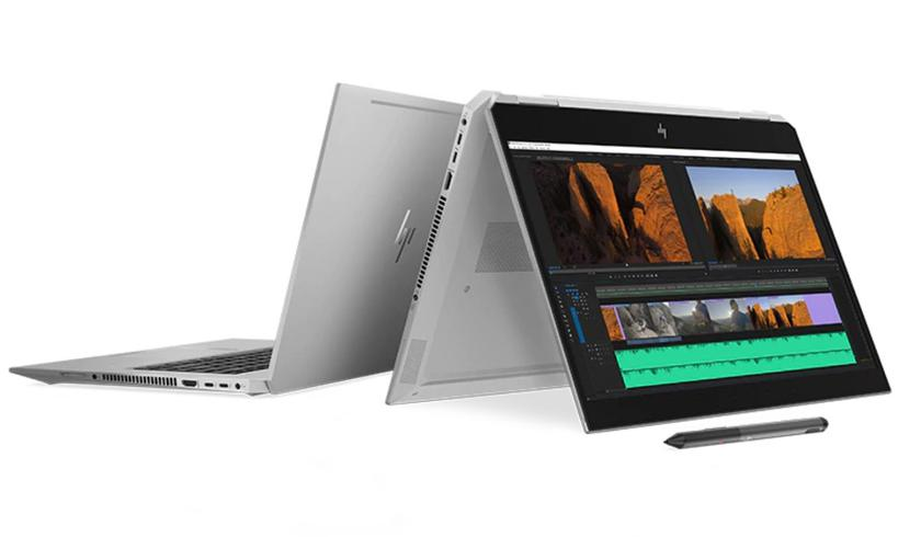 HP introduced a laptop-transformer ZBook Studio x360 G5: the power of Xeon E-2186M and GPU NVIDIA Quadro P1000