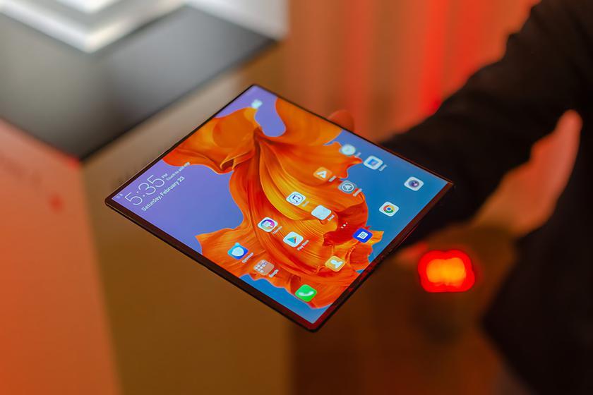 Складной смартфон Huawei Mate X2 получит режим Laptop mode и несколько расцветок корпуса